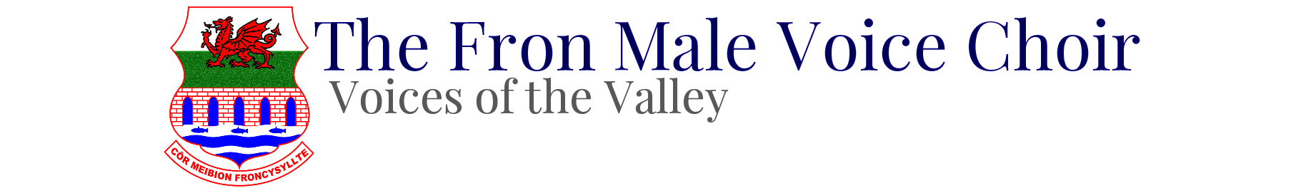 Fron Male Voice Choir Logo