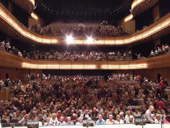 A Full House at the Gateshead Sage - 9th May