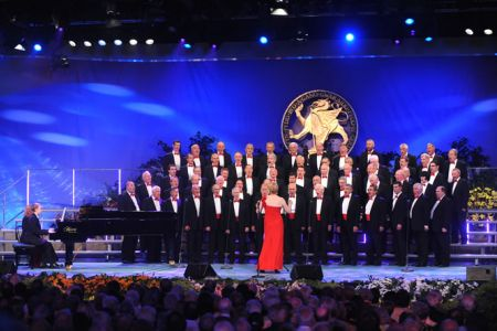 38.Onstage at the Llangollen Eisteddfod Gala Opening Concert - 6th July