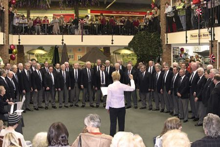 12.Concert in the Moreton Park Garden Centre as part of their 10th Anniversary Celebrations - 9th of March