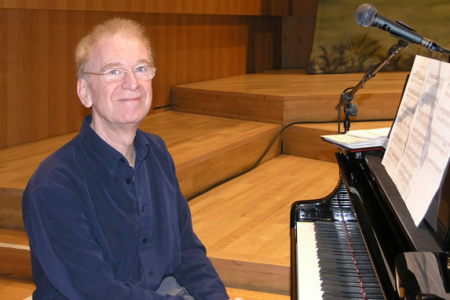 Owen Roberts at the piano - Bridgewater Hall Manchester - 11th April