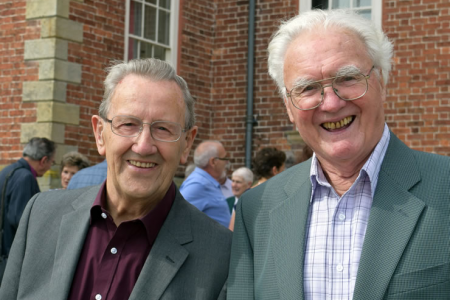 Founder Members Gren Gough and Vince Griffiths