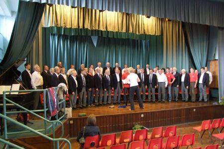 40.Rehearsal at Ysgol Ardudwy, Harlech - 5th July.
