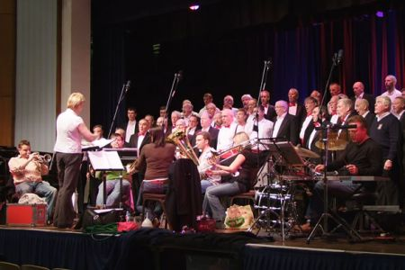 56.Band call with Fine Arts Brass at Wrexham - the first of the Winter Spectacular Concerts
