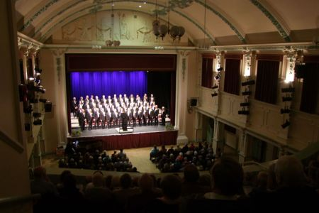 52.A full house in the Ulverston Coronation Hall
