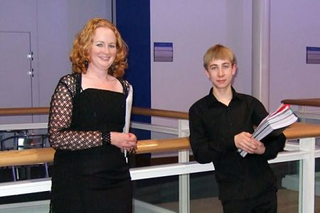 54.Caroline and Alex make their Debut as our Accompanists - Telford International Centre - 12th October
