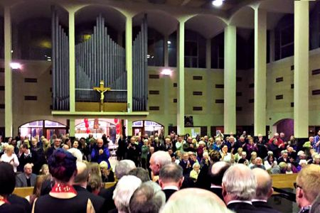 10.Standing Ovation at the end of the Concert with The Mersey Wave Choir - 19th February