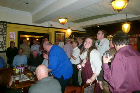 Afterglow with the Bridgend Male Voice Choir in the Queen's Head