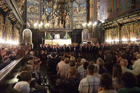 41.Concert in the Mariacki Church in Krakow - 21st August.