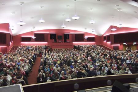 69.A full house at the Floral Pavilion for the Voices of the Valley Winter Concert - 4th December
