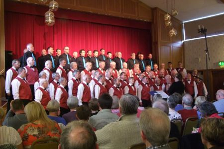 46.Joint Finale performance with the Wrexham Charity Choir in their