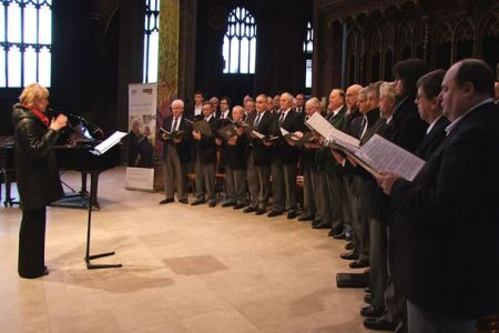 68.A Star for Christmas Lunchtime Concert in Manchester Cathedral in aid of Age Concern and Help the Aged - 12th December