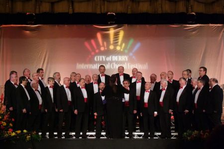 85.Male Voice Choir Competition. The choir were placed 1st.