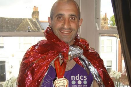 23.Daniel Glatman the Choir's Commercial Manager ran the London Marathon on the 25th of April and in the process has raised over £4,000 so far for The National Deaf Children's Society. Race day was a terrific experience and the crowd were simply brilliant