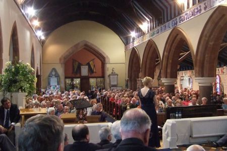 20.A full house at St Mary's Llanfair Caerenion