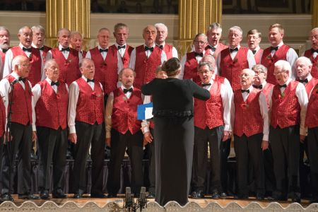 56.2nd half performance in St George's Hall Liverpool at the Royal British Legion The Somme & Beyond concert - 1st July