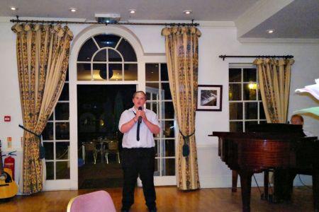 31.Ian Birch singing Any Dream Will Do