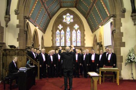 48.Performing for the guests at Rachael's and Brian's wedding in All Saints Parish Church, Hoole - 3rd July.