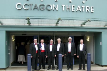 24.Arriving at the Octagon Theatre in Yeovil for a concert on Saturday the 1st of May