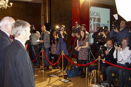 19.Dave Jones and Allan Smith face the Press at the Classic Brit Awards launch - 12th April