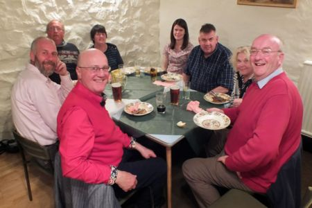 23.Social Evening with an excellent hotpot supper