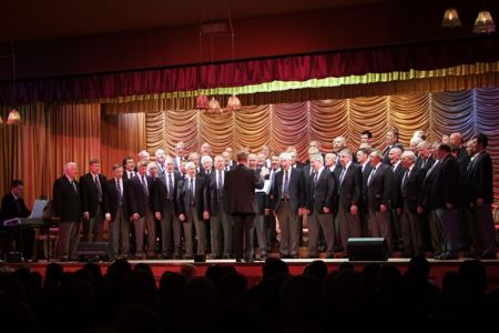 The Choir's Charity Concert in the Llay Royal British Legion held on the 17th of June. The Choir book and pay for the venue, print the tickets and posters and give the tickets to local charities who apply for them. The charities sell them and keep the ent