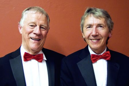 20.Alan Beynon (1st Bass) and Jeff Jones (2nd Tenor) join the Choir as full Members at the Mayors Concert in Llangollen