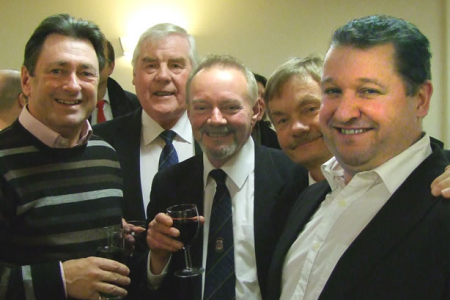 Alan Titchmarsh with Bryn, John, Allan and Rob