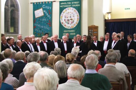 57.Concert in the Hamilton Street Methodist Church Hoole, Chester 16th October.