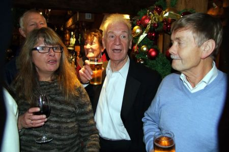 88.Liz, Owen and Allan at the Old Wellington afterglow