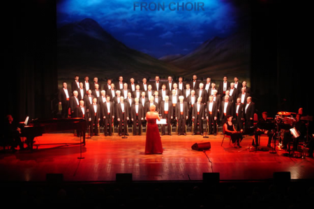 Onstage at the Bournemouth Pavilion - 20th April