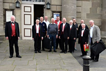 78.Arriving at St Mary Magdalene, Bridgnorth for the Mayors Charity Concert - 24th September