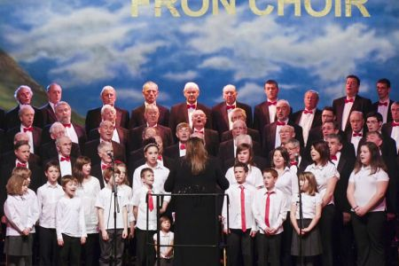 The Choir's Grandchildren join us on stage for the Finalé performance