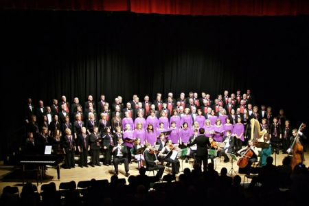 22.In Concert with the New Sinfonia Orchestra, Cantorion Rhos and Lleisiau Clywedog
