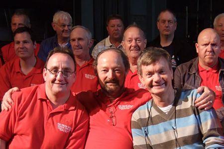 32.Nigel Francis, Geoff Davies and Allan Smith