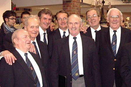 63.Ken, Roger, Wyn, Dylan, David, Trevor and Evan at the Sunday Concert in Moreton Park Garden Centre, Gledred nr Chirk - 30th of November.
