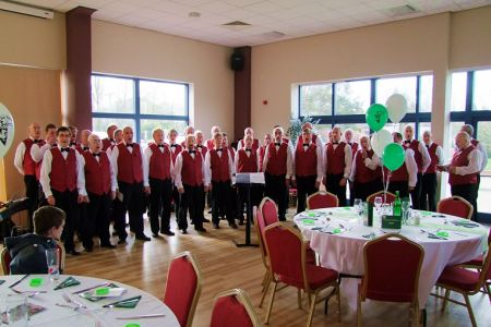 87.At The Venue, the TNS ground in Oswestry to entertain the Corporate Clients - 2nd November