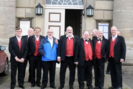 Arriving at St Marys church  Bridgenorth for the town Mayors charity concert.