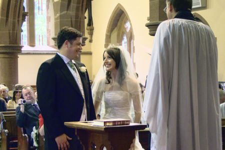 48a.The marriage of Rachel and Brian - Hoole Church