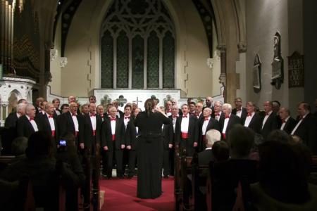 Concert in St Patrick's Church, Dalkey, County Dublin