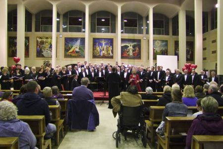 06.In concert with Kathryn Rudge and the Mersey Wave Choir