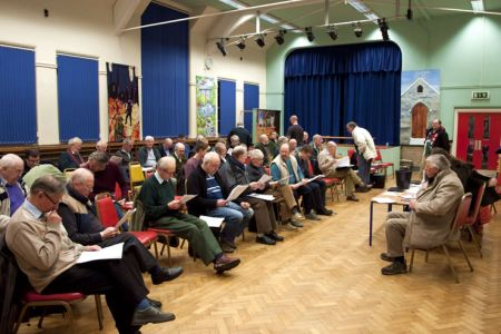 01.The Choir AGM in Acrefair School - 30th January