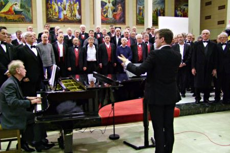 06.Rehearsal with The Mersey Wave Choir - 19th February