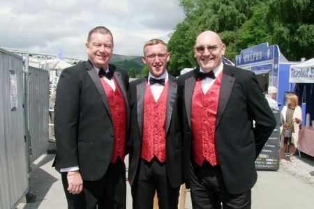 46.Paul, Simon and Wayne on the Eisteddfod Field