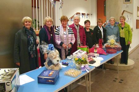 93.Choristers Wives at the Raffle Table - 8th November