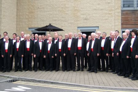 34.The Choir at the Days Inn ready for the Concert at St Jude on the Hill