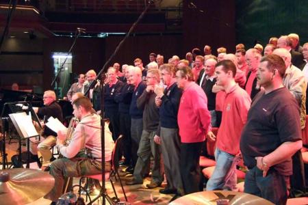 Symphony Hall Rehearsal