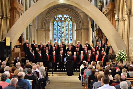Concert in Llandaff Cathedral - 10th June