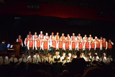 07.At Packwood Haugh School, Ruyton-XI-Towns with the school Choir as part of their 125th Anniversary Concert