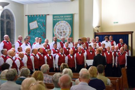 75.In Concert at the Hamilton Street Methodist Church, Hoole - 17th September